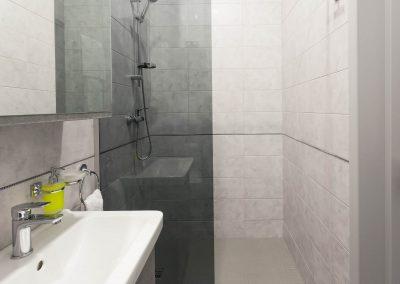 Bathroom. Suite room in Sumskaya Apartments, Kiev, Ukraine.