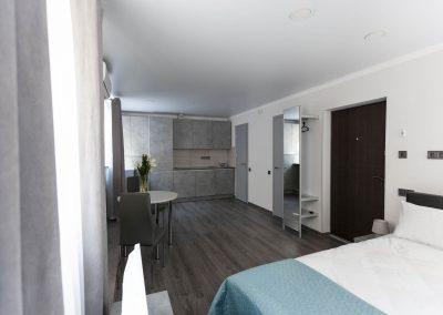 Kitchen. Business Room in Sumskaya Apartments, Kiev, Ukraine.
